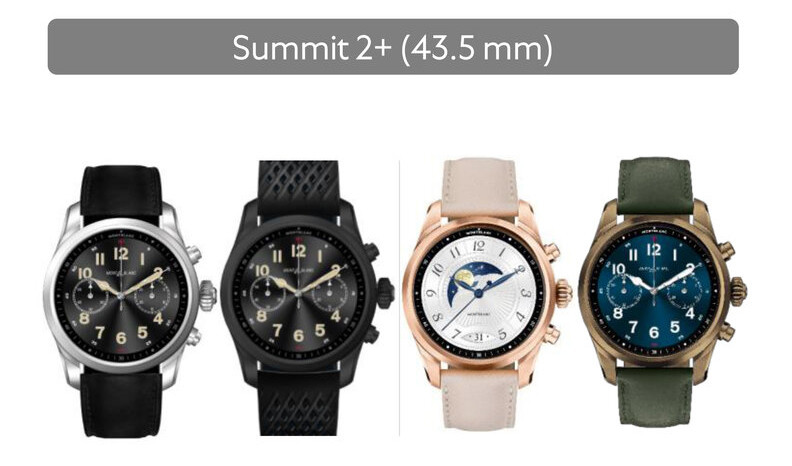 Versiones del Montblanc Summit 2 Plus