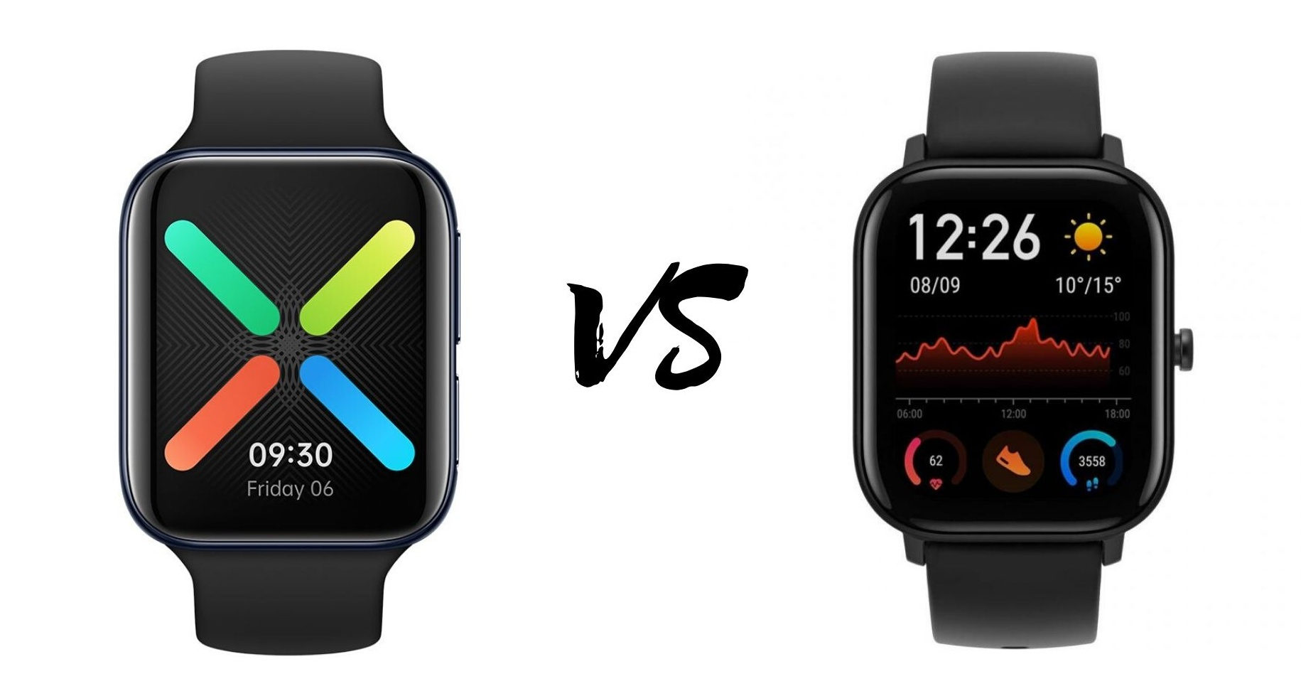 Oppo Watch vs Amazfit GTS