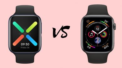 Oppo Watch vs Apple Watch Series 5