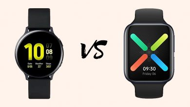 Samsung Galaxy Watch Active 2 vs Oppo Watch