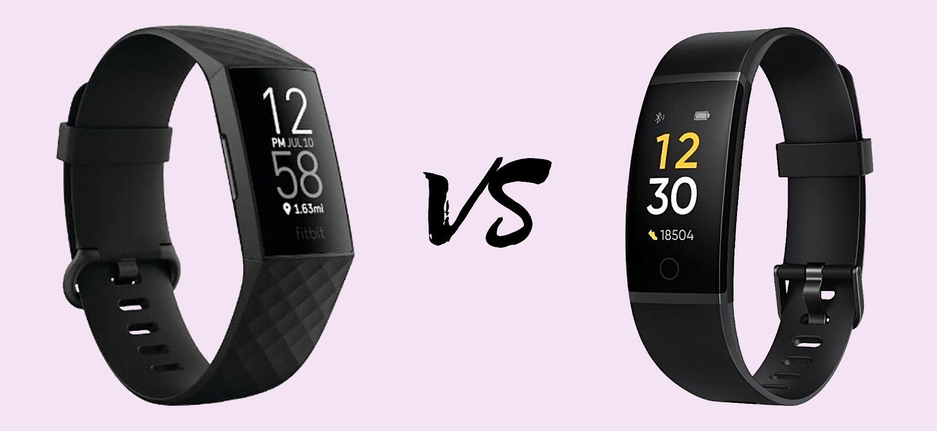 Fitbit Charge 4 vs Realme Band
