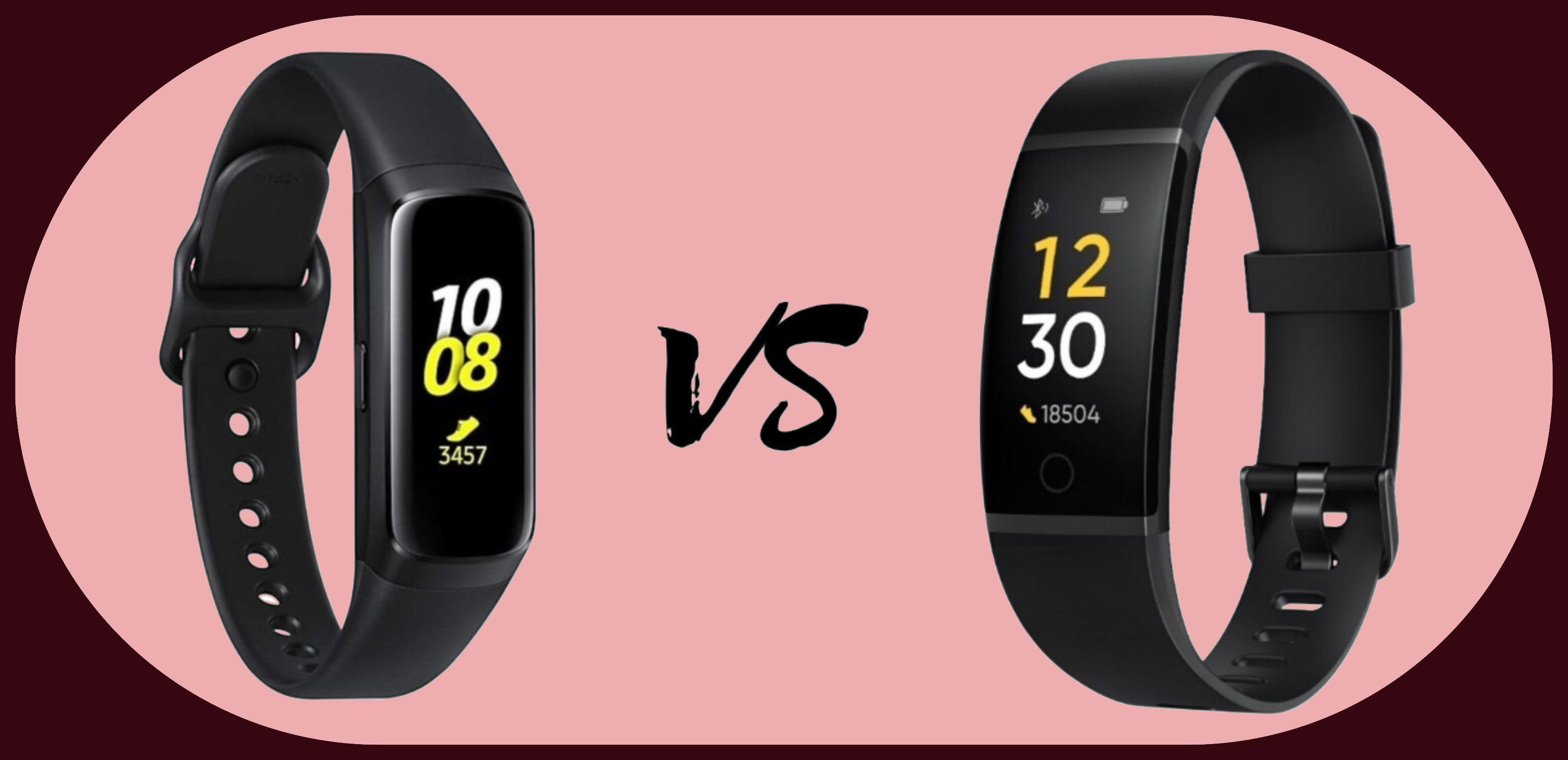 Samsung Galaxy Fit vs Realme Band
