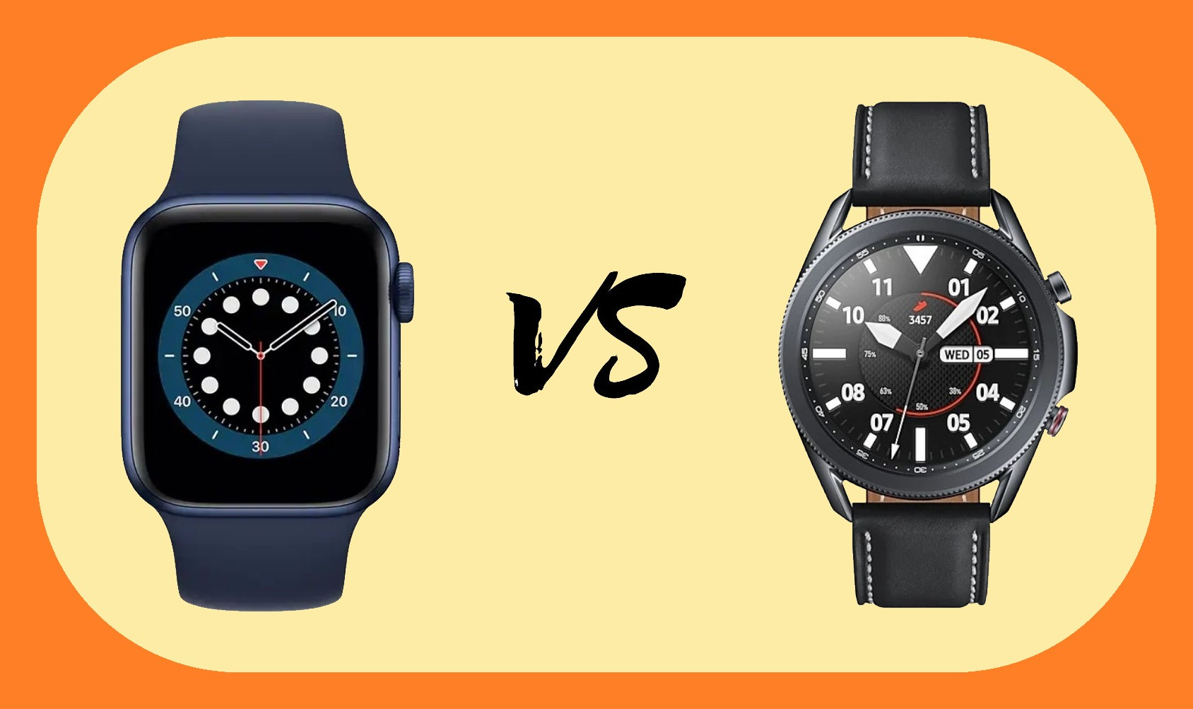 Apple Watch Series 6 vs Samsung Galaxy Watch 3