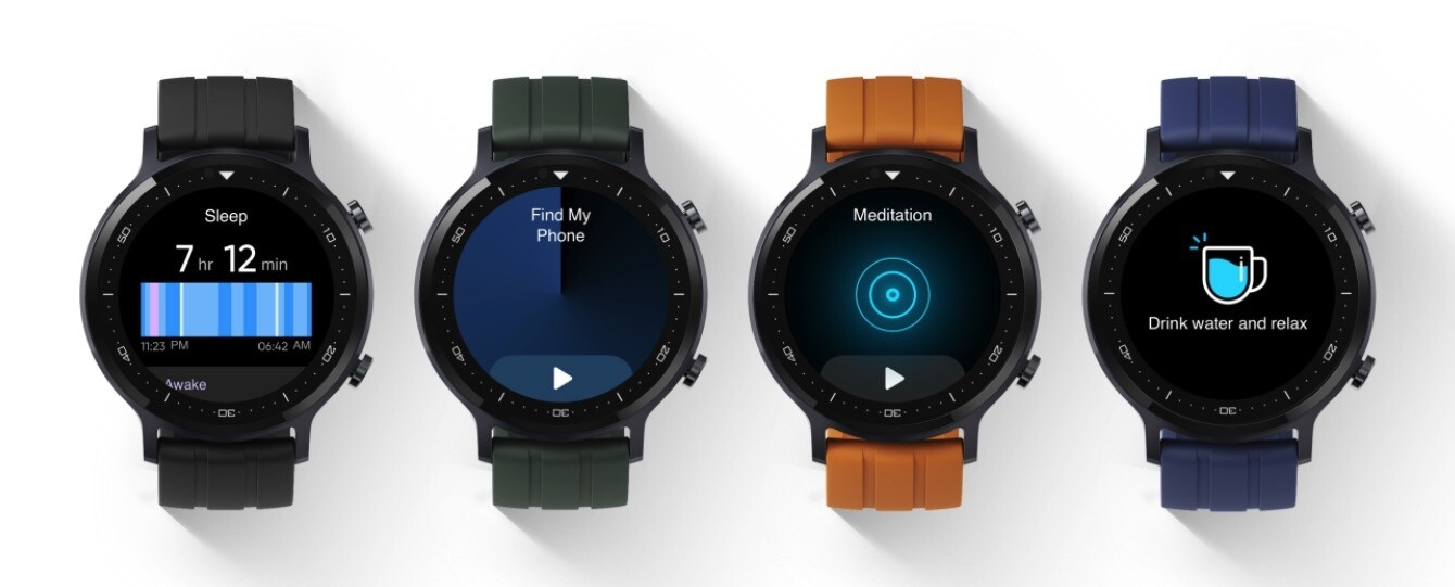 Versiones de color del Realme Watch S