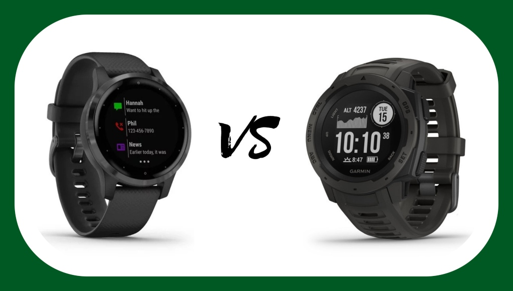 Garmin Vivoactive 4 vs Garmin Instinct