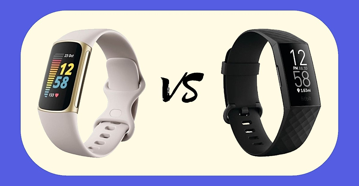 Fitbit Charge 5 vs Charge 4